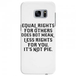 equal rights for light Samsung Galaxy S7 Edge Case | Artistshot