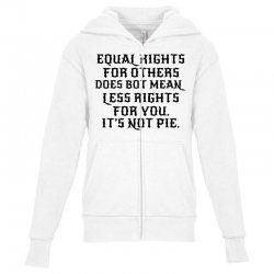 equal rights for light Youth Zipper Hoodie | Artistshot