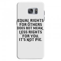 equal rights for light Samsung Galaxy S7 Case | Artistshot