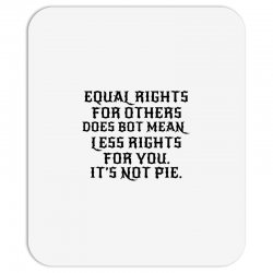equal rights for light Mousepad | Artistshot