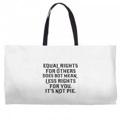 equal rights for light Weekender Totes | Artistshot