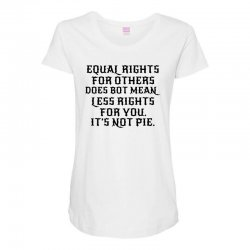 equal rights for light Maternity Scoop Neck T-shirt | Artistshot