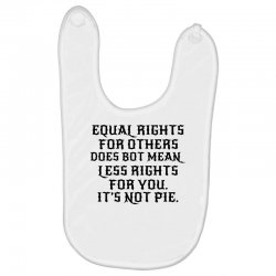 equal rights for light Baby Bibs | Artistshot
