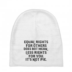 equal rights for light Baby Beanies | Artistshot