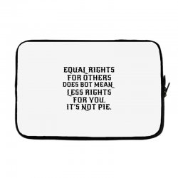 equal rights for light Laptop sleeve | Artistshot