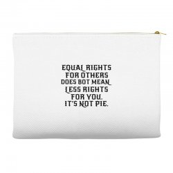 equal rights for light Accessory Pouches | Artistshot
