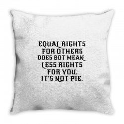 equal rights for light Throw Pillow | Artistshot