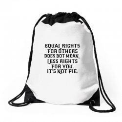 equal rights for light Drawstring Bags | Artistshot