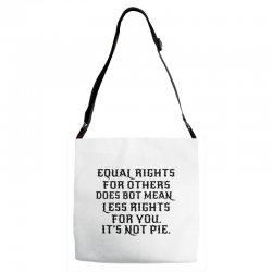 equal rights for light Adjustable Strap Totes | Artistshot