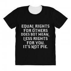 equal rights for dark All Over Women's T-shirt | Artistshot