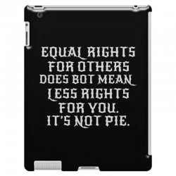 equal rights for dark iPad 3 and 4 Case | Artistshot