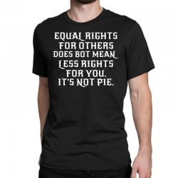 equal rights for dark Classic T-shirt | Artistshot