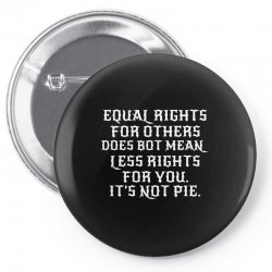 equal rights for dark Pin-back button | Artistshot