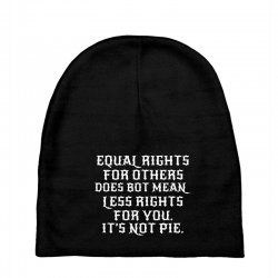 equal rights for dark Baby Beanies | Artistshot