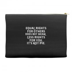 equal rights for dark Accessory Pouches | Artistshot
