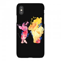 watercolor piglet and winnie pooh iPhoneX Case | Artistshot