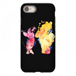 watercolor piglet and winnie pooh iPhone 8 Case | Artistshot