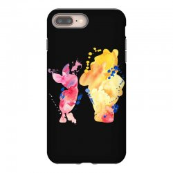 watercolor piglet and winnie pooh iPhone 8 Plus Case | Artistshot