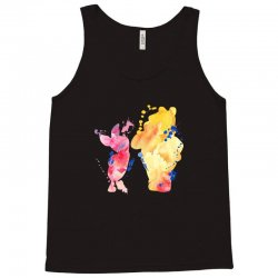 watercolor piglet and winnie pooh Tank Top | Artistshot