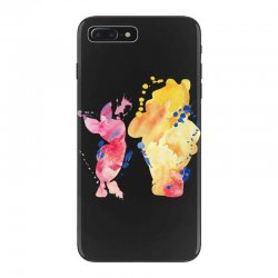 watercolor piglet and winnie pooh iPhone 7 Plus Case | Artistshot