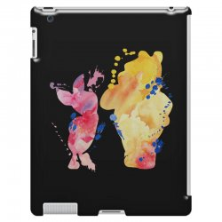 watercolor piglet and winnie pooh iPad 3 and 4 Case | Artistshot