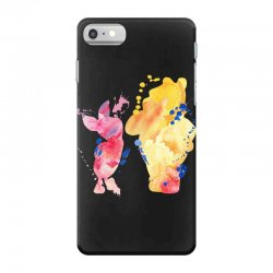watercolor piglet and winnie pooh iPhone 7 Case | Artistshot