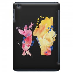 watercolor piglet and winnie pooh iPad Mini Case | Artistshot