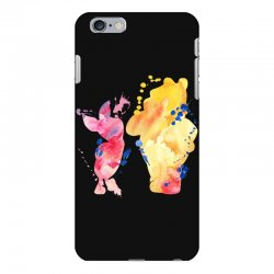 watercolor piglet and winnie pooh iPhone 6 Plus/6s Plus Case | Artistshot