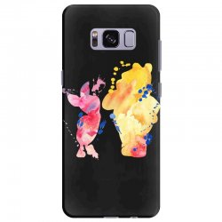 watercolor piglet and winnie pooh Samsung Galaxy S8 Plus Case | Artistshot