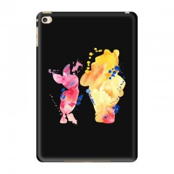 watercolor piglet and winnie pooh iPad Mini 4 Case | Artistshot