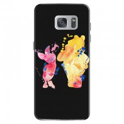 watercolor piglet and winnie pooh Samsung Galaxy S7 Case | Artistshot