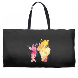 watercolor piglet and winnie pooh Weekender Totes | Artistshot