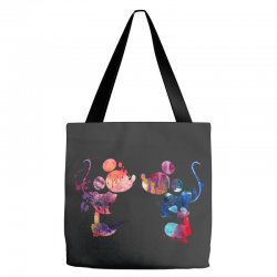 mickey and minnie mouse love watercolor Tote Bags | Artistshot