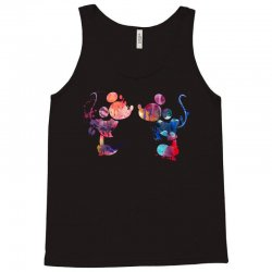 mickey and minnie mouse love watercolor Tank Top | Artistshot