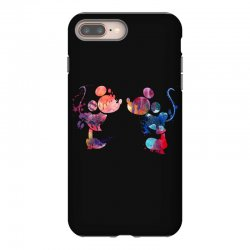 mickey and minnie mouse love watercolor iPhone 8 Plus Case | Artistshot
