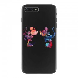 mickey and minnie mouse love watercolor iPhone 7 Plus Case | Artistshot