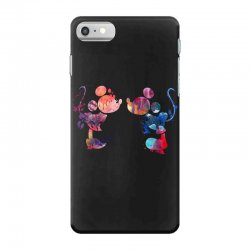 mickey and minnie mouse love watercolor iPhone 7 Case | Artistshot