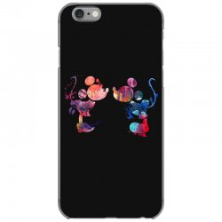 mickey and minnie mouse love watercolor iPhone 6/6s Case | Artistshot