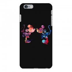 mickey and minnie mouse love watercolor iPhone 6 Plus/6s Plus Case | Artistshot