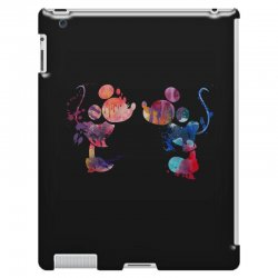 mickey and minnie mouse love watercolor iPad 3 and 4 Case | Artistshot