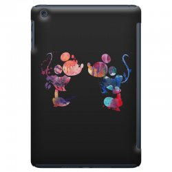 mickey and minnie mouse love watercolor iPad Mini Case | Artistshot