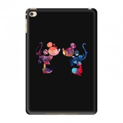 mickey and minnie mouse love watercolor iPad Mini 4 Case | Artistshot
