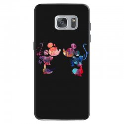 mickey and minnie mouse love watercolor Samsung Galaxy S7 Case | Artistshot