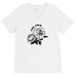 grl pwr for light V-Neck Tee | Artistshot