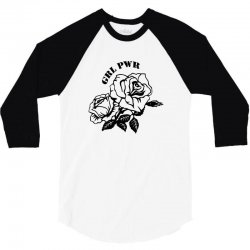 grl pwr for light 3/4 Sleeve Shirt | Artistshot