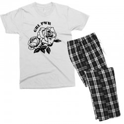 grl pwr for light Men's T-shirt Pajama Set | Artistshot