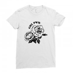 grl pwr for light Ladies Fitted T-Shirt | Artistshot