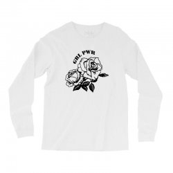 grl pwr for light Long Sleeve Shirts | Artistshot