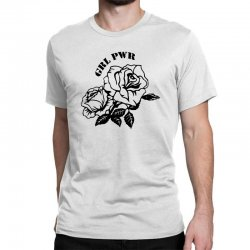 grl pwr for light Classic T-shirt | Artistshot