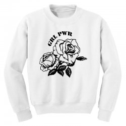 grl pwr for light Youth Sweatshirt | Artistshot